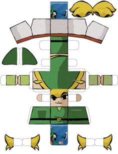 Image detail for -Paper Toy Link 2 by ~Diogochewbacca on deviantART