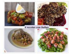 4 recetas con habas
