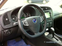 Saab 9-3 Viggen Interior- if only this one was this one had the two ...