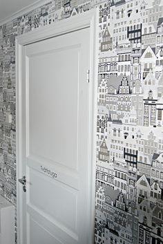 Wallpaper, Metropolis by Sandberg.
