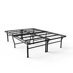 "Walmart Under Bed Storage Glamorous Free Shippingbuy Zinus 18"" Quick Snap Metal Platform Bed At"