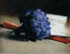 Edouard Manet Bouquet of Violets