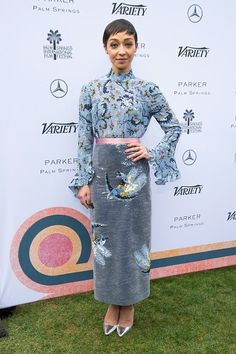 Ruth Negga wore an #Erdem Pre-Fall 2017 top + skirt to the Variety '10 Directors To Watch' & Creative Impact Awards during the #PSFilmFest. The Fashion Court (@TheFashionCourt)   Twitter