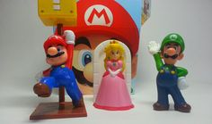 Mario 2015 McDonalds Happy Meal Toys Review Princess Peach Luigi and Mario Battle HD #mario #happymeal #mcdonalds #youtube