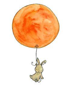 balloon and rabbit