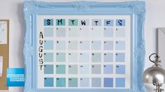 Paint Chip Calendar | Epic Everyday | American Express