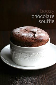 Light and airy low carb chocolate soufflés for two. Impress your sweetie with this classic French dessert made over to be healthy and sugar-free.