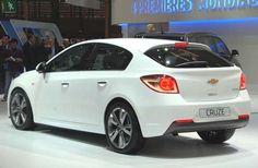 Chevrolet Cruze Hatch com preço inicial de R$ 64.900