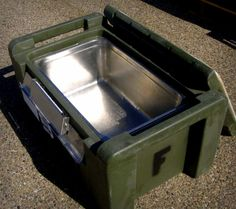 This Plastic Food Container would be great for camping, hiking and prepping!