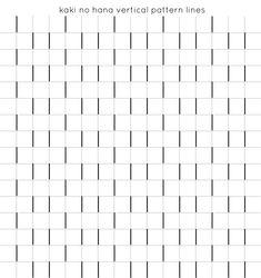 étape 2: lignes verticales