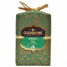 Pure Green Tea - Royal Brocade Cloth Bag