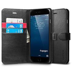 iPhone 6 Plus Case, Spigen® [Stand Feature] iPhone 6 Plus (5.5) Case Wallet [Wallet S] [Black] Premium Wallet Case STAND Flip Cover for iPhone 6 Plus (5.5) (2014) - Black (SGP10918) Spigen http://www.amazon.com/dp/B00JH83OPY/ref=cm_sw_r_pi_dp_TEDsub041Y4CT