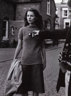horreure: A life in the theatre,Kate Mossby Bruce Weber for Vogue Italia October 1996