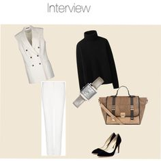 """Interview"" by newette on Polyvore"