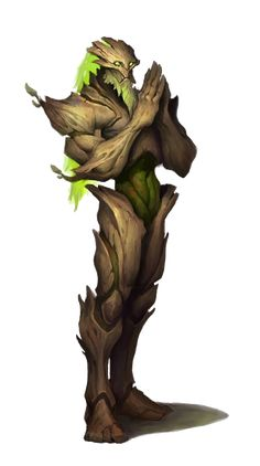 Treeperson / Ent or druid transformed to tree person RPG character inspiration Fantasy Races, Fantasy Rpg, Fantasy Artwork, Forest Creatures, Fantasy Creatures, Mythical Creatures, Creature Concept Art, Creature Design, Dnd Characters