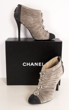CHANEL love these!  wish i had somewhere to wear them!
