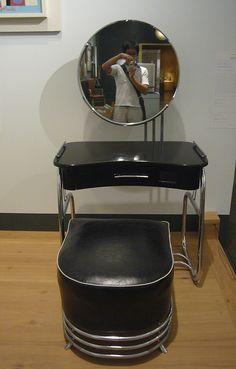 Art deco furniture by Kent Wang, via Flickr