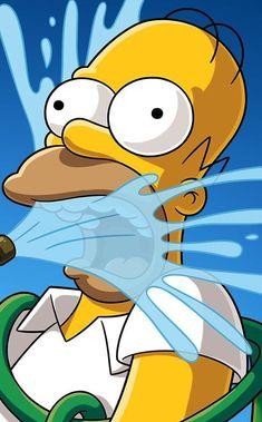 Simpsons Art, Cover Pics, Gorillaz, Pikachu, Cartoon, Wallpaper, Classic, Fictional Characters, Wall Papers