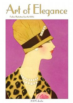 Fashion Illustrations from the 1930's by Helen Dryden