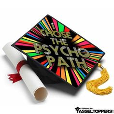 Psychology Major Grad Cap Tassel Topper