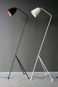 De Beauvoir Floor Lamp, 5ft tall, 125 pounds