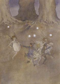 Ida Rentoul Outhwaite  1888-1960  -  Elves and Fairies