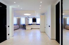 В стиле минимализм: интерьер квартиры на улице Гвардейской