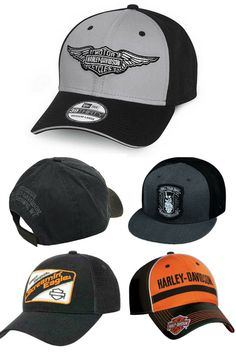 Very Classic and Retro Look Harley Davidson Hat. Harley Davidson Hats, Harley Davidson Dealership, Harley Gear, Leather Vest, Retro Look, Sport Wear, Vest Jacket, Belt Buckles, Cute Outfits