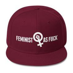b3e34e6c2628a Feminist. Feminist TheoryFeminist MovementFeminist ShirtFeminist  QuotesBirthday Gifts For TeensSnapback HatsWool BlendGifts For WomenFeminism