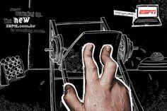 ESPN: Finger, 3 | Ads of the World™