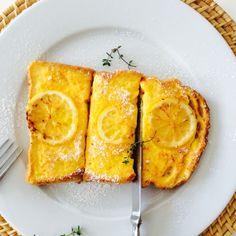 レモンフレンチトースト