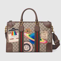 91c196c5f0c Courrier soft GG Supreme duffle bag