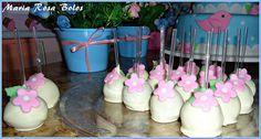 Cake Pop floral | Flickr – Compartilhamento de fotos!