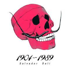, Dali http://www.creativeboysclub.com/tags/we-love-skulls