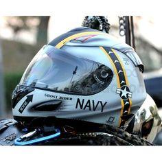Masei US Navy 802 Full Face Motorcycle Helmet (Hong Kong) , US NAVY 802 Full Face Motorcycle Helmet , Masei