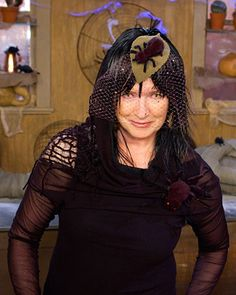 hauntingly beautiful spider | Martha-Stewart-Halloween-Costume-Sophisticated-Spider-Witch