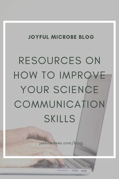For those who want to improve their science communication skills, I'm sharing two resources that helped me a ton! These resources cover writing techniques and storytelling. Learn more in this Joyful Microbe blog post. #science #scicomm #writing