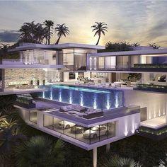 Hollywood hills mansion! -- By vantagedesigngroup