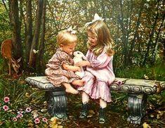 """Bunny Garden"" ~ Sandra Kuck"