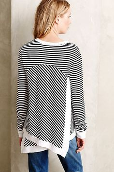 Parker Sweatshirt - anthropologie.com I like the back of this would like to see the front