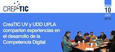 Portada de la 10ª edición del Boletín Creatic. Se destaca el inicio de un trabajo conjunto con la Universidad de Playa Ancha, en Competencia Digital Docente.