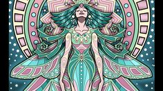 """""""Lost Lumina #8 Timelapse Coloring Book Speed Art by Cristina McAllister"""