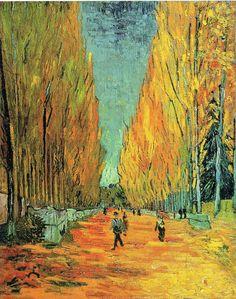 """Vincent van Gogh """"Alychamps"""" 1888"""