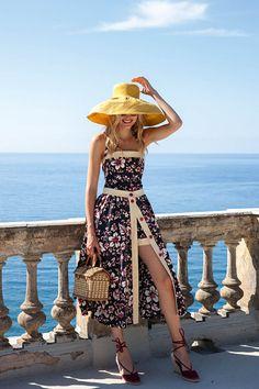 Burda vintage-styled capri sunsuit.