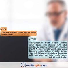 Medicopin.com'un doktor kadrosu, uluslararası alanda kabul görmüş sağlık merkezlerinde görev yapan, konusunda uzmanlığı dünyaca kabul edilmiş uzmanlardan oluşur. #medicopincom #medicopin #medihis #digitalhealth #ikincigörüş #medicalarchive #sorucevap #soru #cevap #doktor #doctor #danışmak #danismak