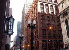 Adams Street - Chicago's Financial District
