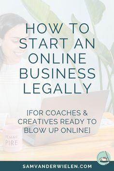 "Want to know how to start an online business legally? In this video, I'll teach you how to legally start a business online. So if you're an online coach, creative entrepreneur, consultant or course creator and you're wondering ""how do you start a business?"" (whether you start a business in 2019 or you're getting ready to start a business in 2020), I'll teach you the legal steps to starting a business in less than 10 minutes. #onlinebusiness #legaltips Best Business To Start, Legal Business, Starting Your Own Business, Business Marketing, Start Online Business, Business Coaching, Content Marketing, Internet Marketing, Media Marketing"