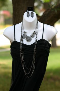 Premier Designs Jewelry- Botanical Necklace with Urbanite!