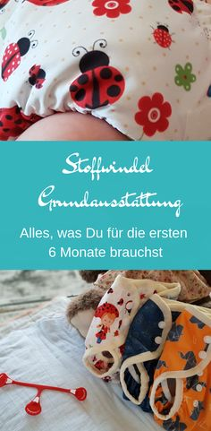 Cloth diaper Basic equipment: Everything you need for the first 6 .- Stoffwindel Grundausstattung: Alles, was du für die ersten 6 Monate brauchst Sewing cloth diapers yourself: You need this for the first 6 months by step - Baby Skin Care, Baby Care, Baby Toys, Gender Neutral Baby Clothes, Diy Projects For Beginners, Diy Chicken Coop, Fun Hobbies, Baby Carriage, Baby Health
