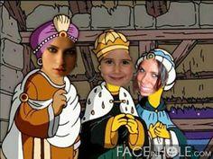 Fotomontaje de los Reyes Magos con este fotomontaje de los Simpsons.